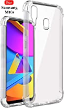 Jkobi Silicon Flexible Shockproof Corner TPU Back Case Cover For Samsung Galaxy M10s -Transparent