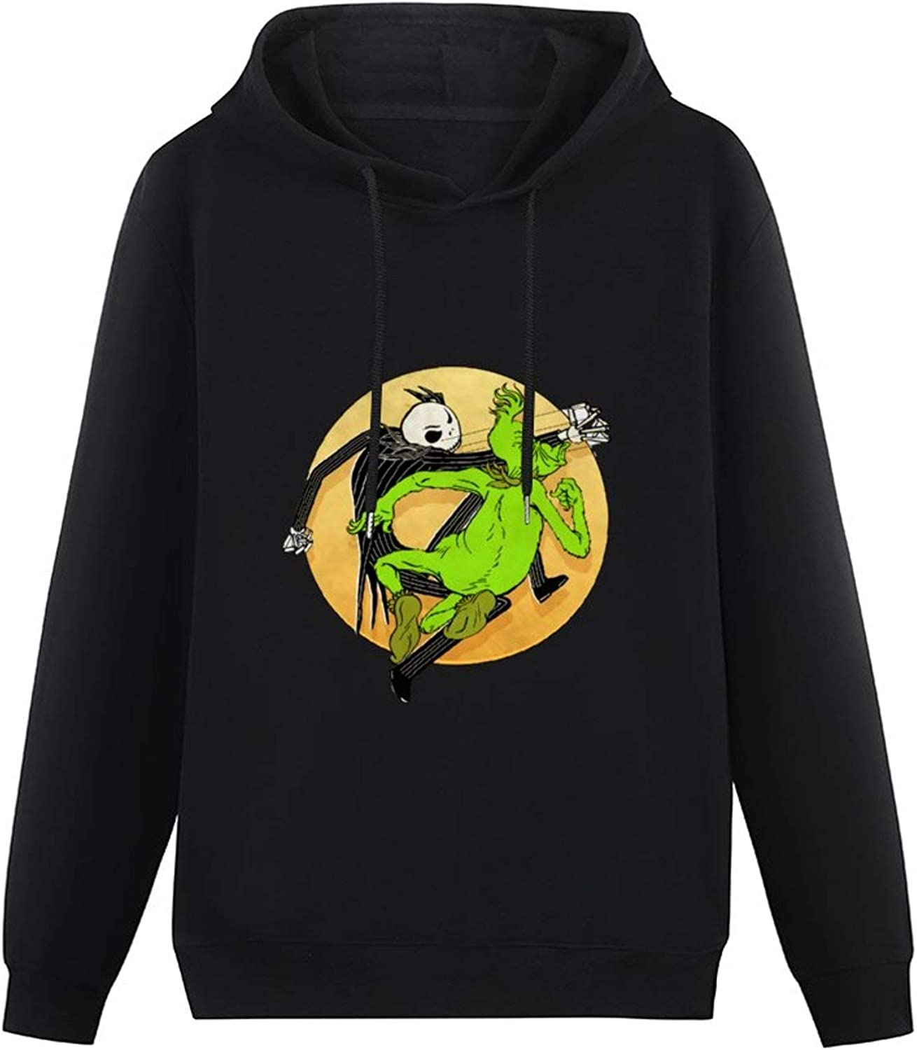 Grinches-Jack-Skellington Women's Hoodie Sports Warm Casual Fashion Sweater