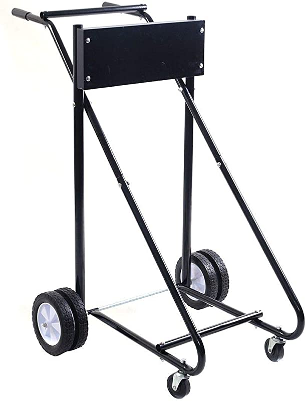 LHONE Carrier Cart Dolly Boat Motor Stand Trolley 315 Lbs Outboard Storage Pro Heavy Duty