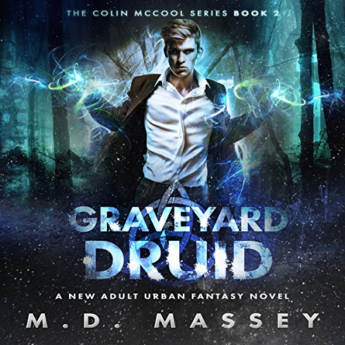 Graveyard Druid audiobook cover art