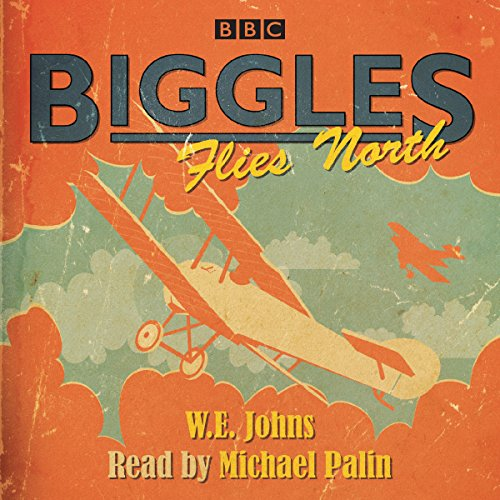 『Biggles Flies North』のカバーアート