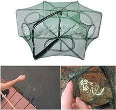 Portable Collapsible Fishing Net Trap Landing Net Trap Cast Dip Cage Automatic for Fish Shrimp Minnow Crayfish Crab Baits