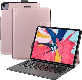 Ewin iPad Air4 10.9インチ/iPad Pro 11インチ 第1世代/第2世代/第3世代 キーボードケース iPad保護ケース タッチパッド搭載 一体式Bluetoothキーボード iPadpro11インチ第3世代対応 2021...