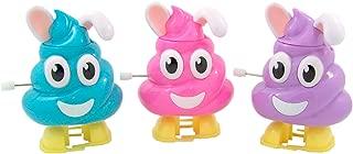 Bunny Rabbit Poop Emoji Pooper Candy Dispenser, 0.52 oz, Pack of 3