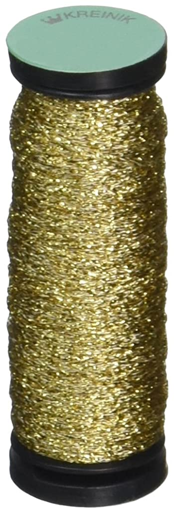 Kreinik No.12 Metallic 10m Tapestry Craft Braid, 11-Yard, Gold