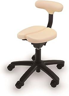 アーユル・チェアー キャスタータイプ オクトパス ベージュ 【骨盤を立て坐骨で座る 腰と姿勢のサポート椅子 デスクワーク 集中できる学習環境 特許取得】