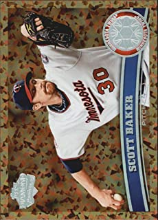 2011 Topps Cognac Diamond Anniversary #354 Scott Baker Minnesota Twins (Update Series Only) MLB Baseball Card NM-MT