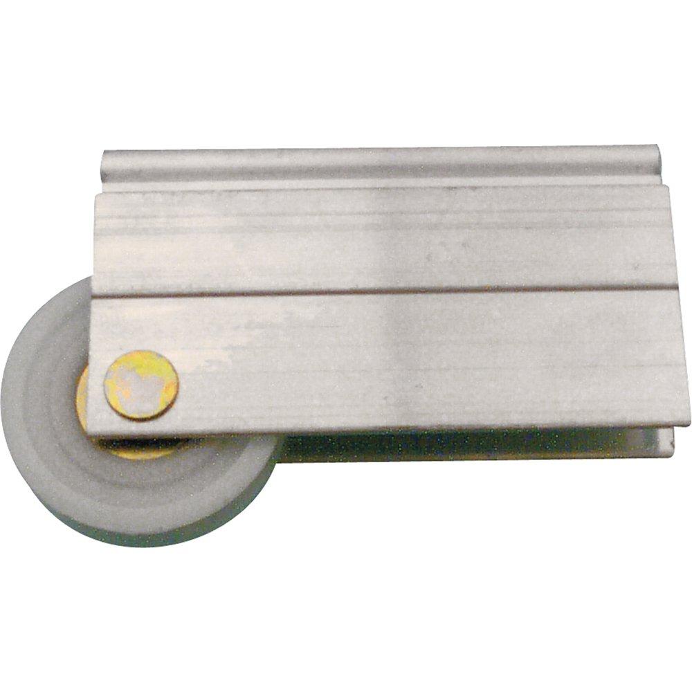 Prime-Line N 6599 - Rodillo para puerta de espejo, 3,81 cm, rueda de plástico, rodamientos de bolas, cóncavo: Amazon.es: Bricolaje y herramientas