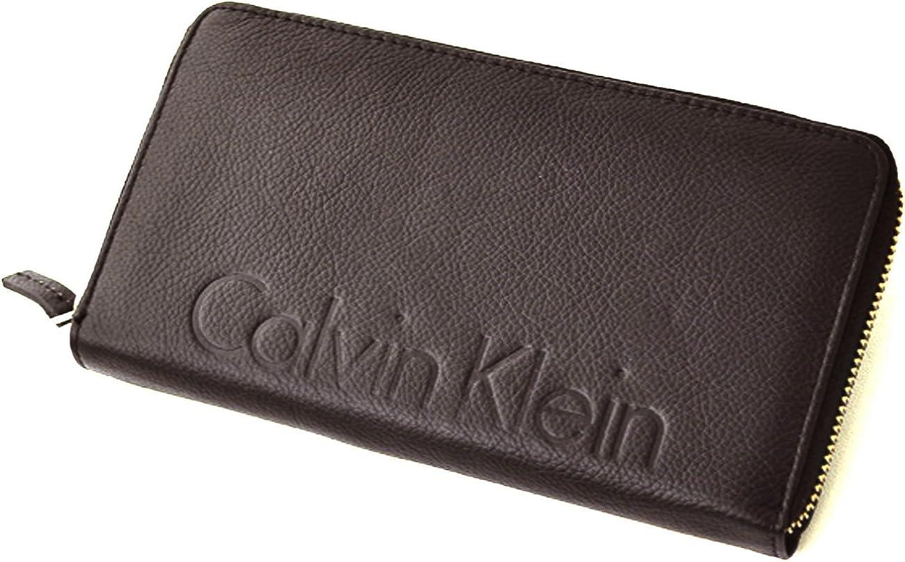 Calvin Klein Leather Daily bargain sale Continental Nashville-Davidson Mall Wallet Zip