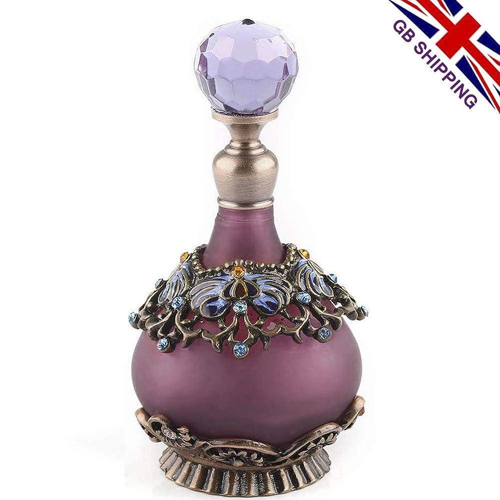 バドミントンママ感性VERY100 高品質 美しい香水瓶 23ML アロマボトル 綺麗アンティーク風 プレゼント 結婚式 飾り 58798