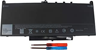 Gomarty J60J5 Laptop battery for Dell Latitude E7270 E7470 Series R1V85 MC34Y 0MC34Y 242WD 451-BBSX 7.6V 55WH - 1 Year Warranty