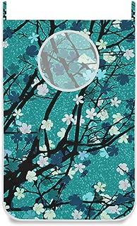 Panier à linge suspendu Sac à linge à thème de printemps Porte / mur / placard à suspendre Grand panier à linge pour organ...