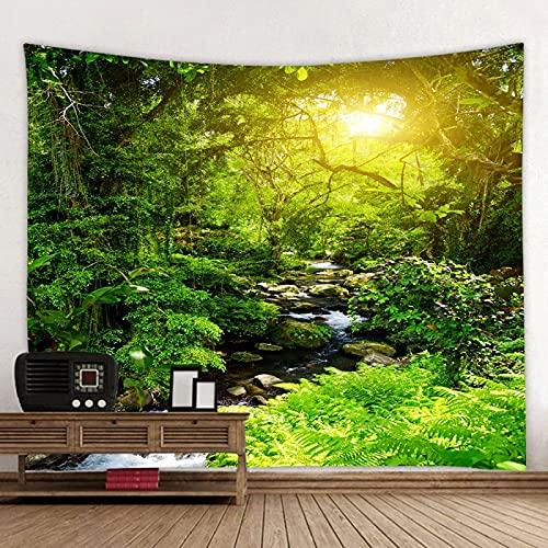 YMHM Tapiz de Bosque Impresión de Pared Tapiz de Impresión Digital 3D Decoración del Hogar,K