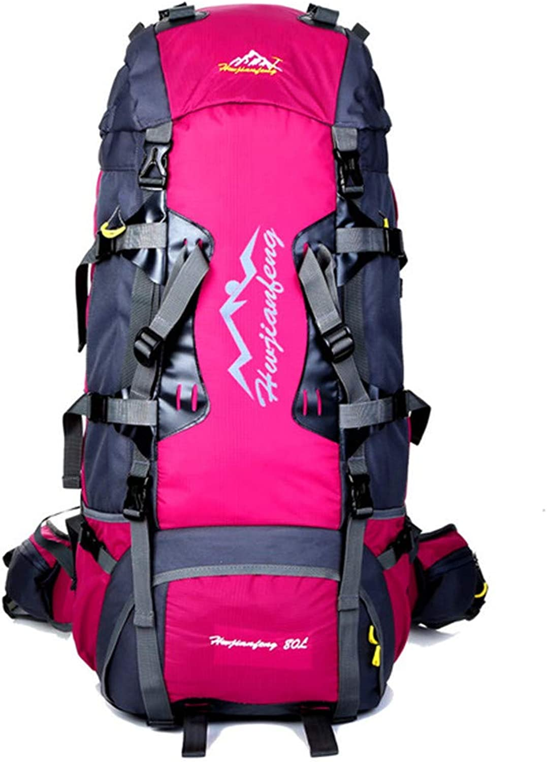 Hiking Backpack, 80L Large Outdoor Camping Hiking Backpack Unisex Waterproof