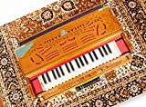 Scale Changer Harmonium Coupler Model Manoj Kumar Sardar & Bros. Loud & Clear Sound, Comes in New & Tuned Condition Free Carrying Cover