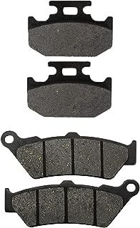 Road Passion Plaquettes de frein avant et arri/ère pour Yamaha WR125K 1998//WR200D 1992//WR250Z 1991-1997//WR500Z 1992-1993//TTR250 L//M//N//P//R//S//T//V 1999-2006