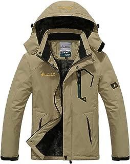 Sunward Coat for Men,Men's Autumn Winter Assault Clothing Thickened Fluffy Hooded Coat