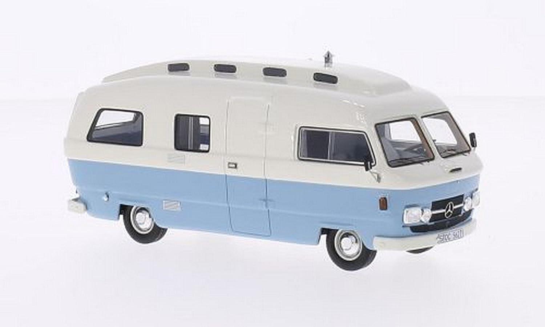 tienda en linea NEO+ Scale Models NEO45627 Mercedes L206D L206D L206D Orion II Camper blanco Light azul 1 43  descuento de ventas