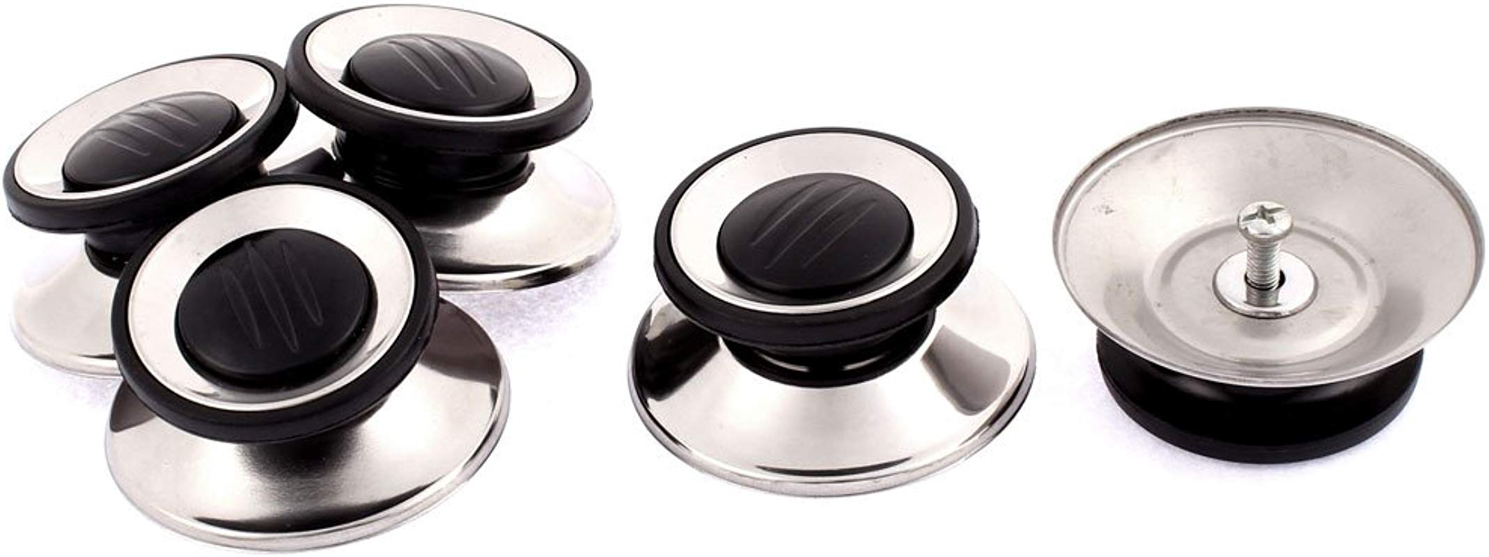 Uxcell Kitchen Cookware Utensil Pot Lid Cover Holding Knob Handle 5Pcs