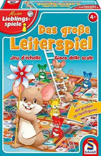 Schmidt Spiele 40553 Das große Leiterspiel, Kinderspiel