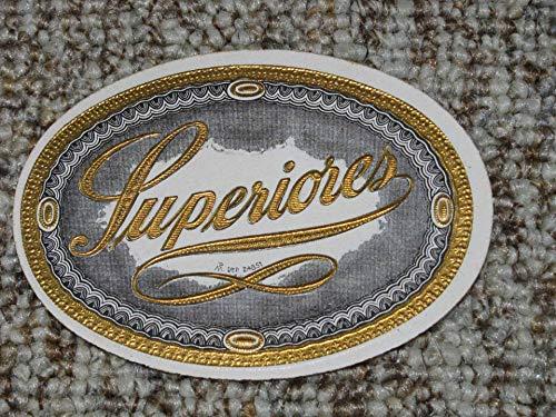 Zigarren-Etikett Superiores