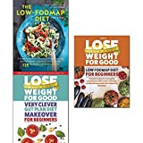 Low-fodmap diet step by step, lose weight for good very clever gut plan diet makeover and low fodmap diet for beginners 3 books collection set