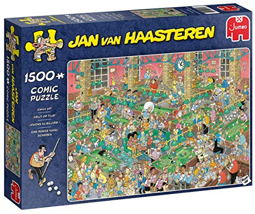 Jumbo Spiele Jan Van Haasteren Chalk Up! Jigsaw Puzzle (1500 Pieces)