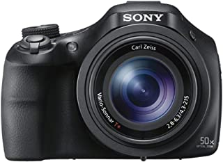 "Sony DSCHX400B 20.4 Digital Camera with 3"" LCD, Black"