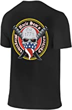 Uncle Sam's Misguided Children Men Short Sleeve Round Neck (Front/Back Print) T Shirt
