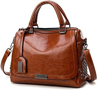 Runhuayou Effortless Business Mobile Ladies Shoulder Bag Violent Fashion Crossbody Backpack Great for Casual or Many Other Occasions Such (Color : Brown)