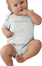 Ramones Presidential Seal Baby Pajamas, Bodysuits Clothes Onesies Jumpsuits Outfits Black