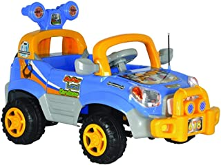 ride on car blue by best toy 29-678