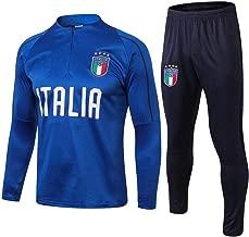 WigColtd Sportbekleidung Herren Trikot Italienische Spieler Aussehen Training Casual Langarm & Hosen Set @ 1_XL