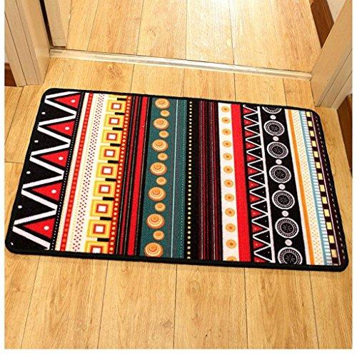 DSJ tapijt nationale stijl matten ingang deur ingang deurmat mode persoonlijkheid skid matten, 60 * 90cm