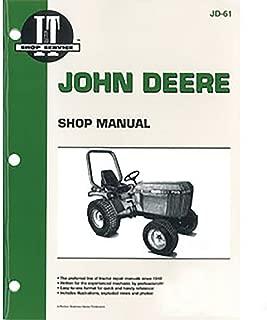 JD61 New John Deere Compact Tractor Shop Manual 655 755 756 855 856 955
