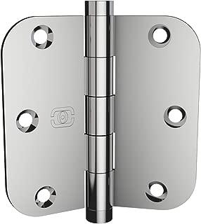 1 Pack Omnia 3 1/2 x 3 1/2 Extruded Solid Brass Door Hinge 5/8