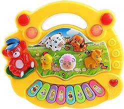 Candyboom Colorido Beb/é Ni/ños Musical Educativo Piano Animal Granja Patr/ón Desarrollo M/úsica Juguete Ni/ños para Regalo de cumplea/ños