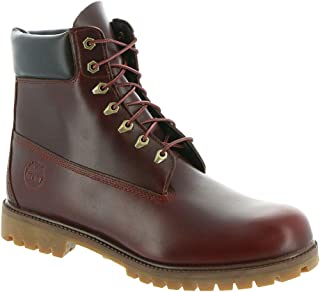 timberland heritage brown boots