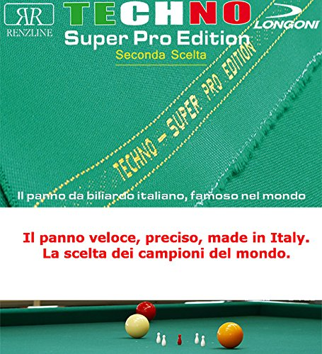 Paño billar Internacional 5 Birilli Longoni Techno Super Pro ...