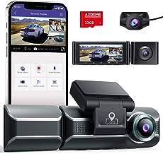 Sponsored Ad - AZDOME M550 Dash Cam 3 Channel, Front Inside Rear 1440P+1080P+1080P Car Dashboard Camera Recorder, 4K+1080P...