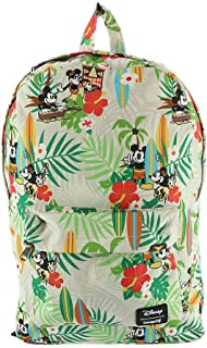 Loungefly Disney's Mickey & Minnie Mouse Tiki Print Backpack Standard