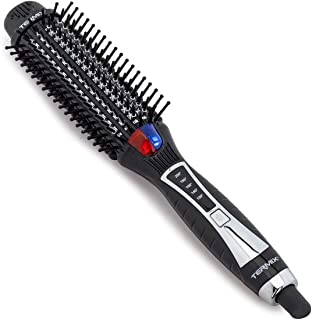Termix Pro Flat Brush-Cepillo alisador de pelo eléctrico con tecnología iónica y sistema de infrarrojos que alisa y aporta brillo