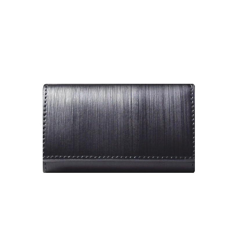 説教枯渇近々LANZA (ランザ) キーケース ストリシアレザー [ ブラック ] 財布 鍵 イタリア製