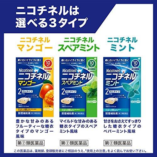 『【指定第2類医薬品】ニコチネル ペパーミント 90個 ※セルフメディケーション税制対象商品』のトップ画像