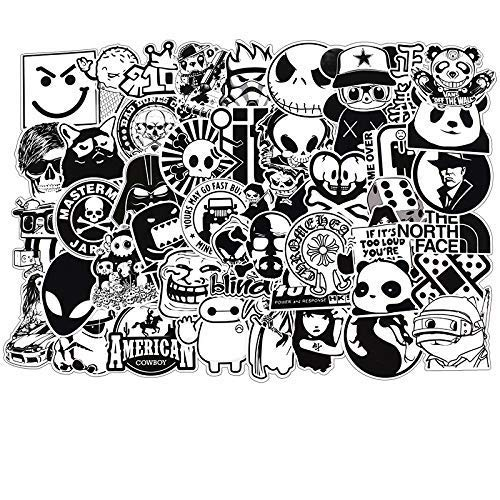 BESROY Aufkleber Decals(100 Stück),Dekorative Aufkleber Graffiti Sticker Decals Vinyls für Laptop,Kinder,KühlschrankAutos,Motorrad,Skateboard Gepäck,Bumper Sticker Hippie Aufkleber Bomb wasserdicht