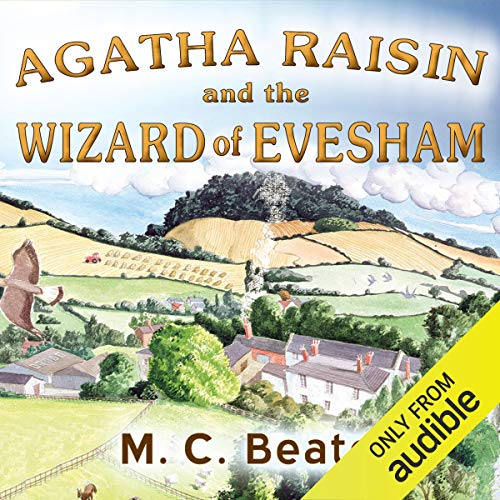 『Agatha Raisin and the Wizard of Evesham』のカバーアート