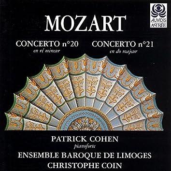 Mozart: Concertos pour piano Nos. 20 & 21