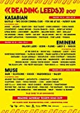 Import Posters Leeds/Reading Festival 2017 – Music Wall