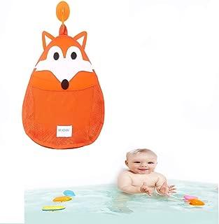 Organizador de almacenamiento de juguetes para baño, Flyfish Bath Toy Storage | NUEVO DISEÑO - Succión extra fuerte (A)