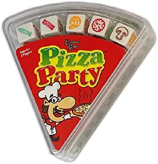 University Games DICEcapades Pizza Party Fast & Frantic Dice Game for Kids